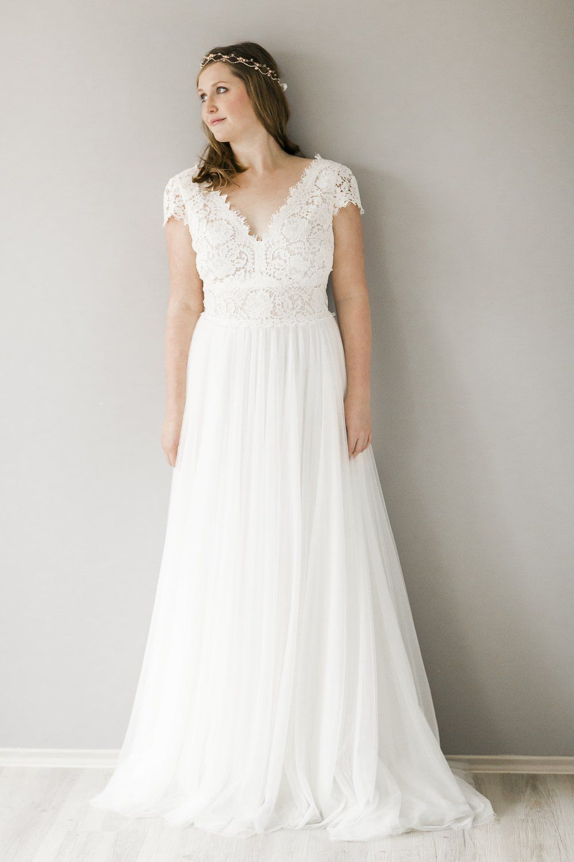 BEATA Größe 13  Brautmode, Hochzeitskleider vintage, Brautkleid