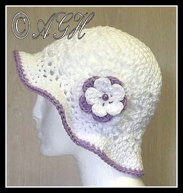 Crochet Patterns Galore - Sunday Best Cloche Sunhat | Crochet and ...