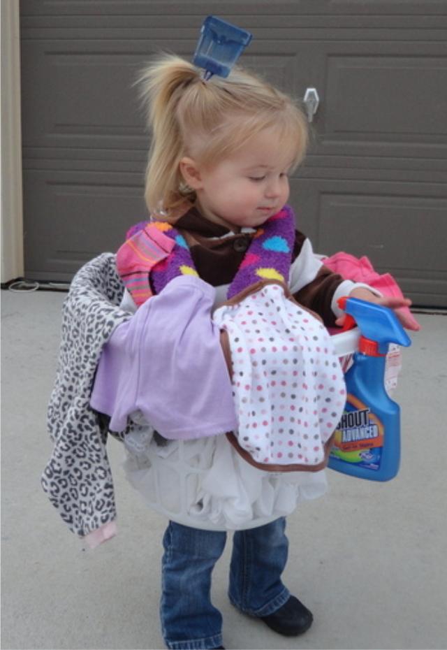 Laundry Basket Costume Diy Halloween Costumes For Kids