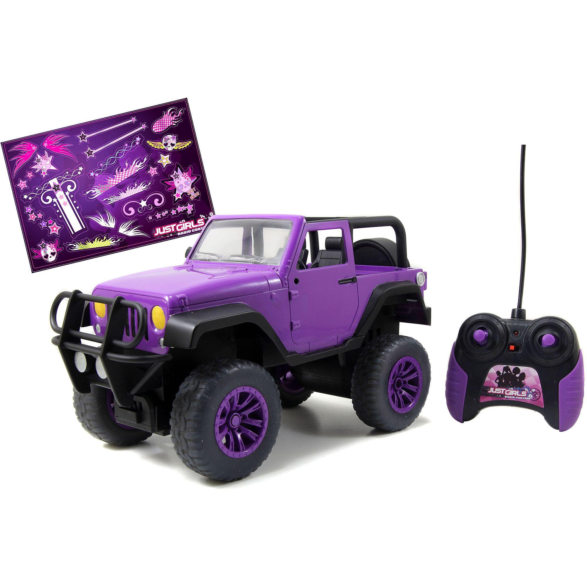 Jada Toys GirlMazing Remote Control Big Foot Jeep