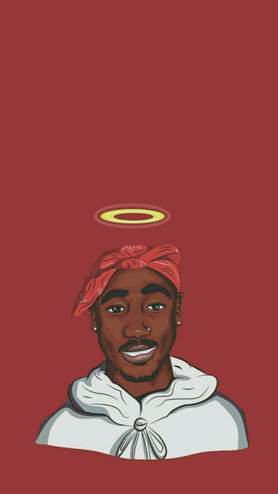 Divinity Dev For More Pins Tupac Art Tupac Wallpaper Rapper Wallpaper Iphone