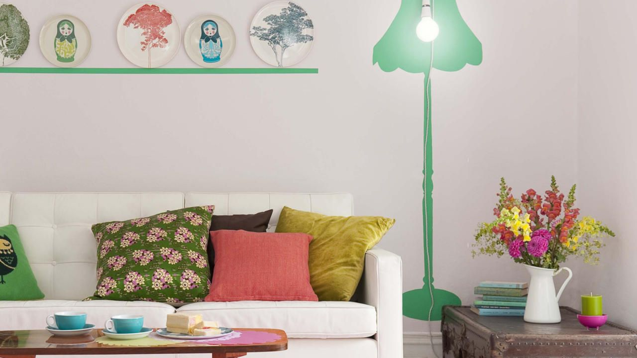 27 ideas geniales para decorar y organizar un living peque o living peque os helechos y ocio - Ideas geniales ...