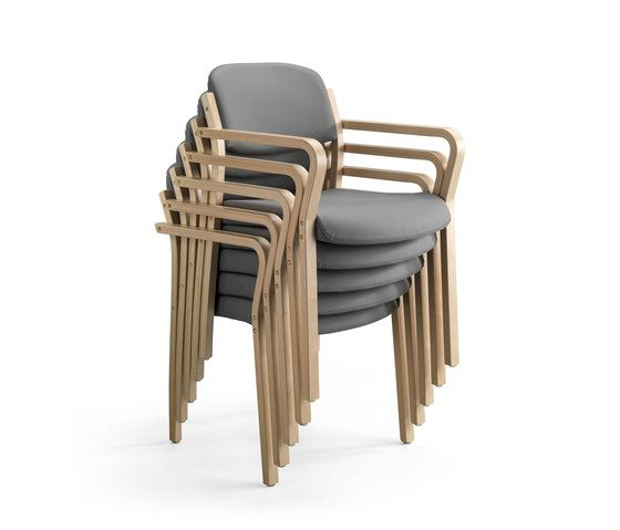 Chairs | Seating | Duun Chairs stackable | Helland | Helge. Check it out on Architonic