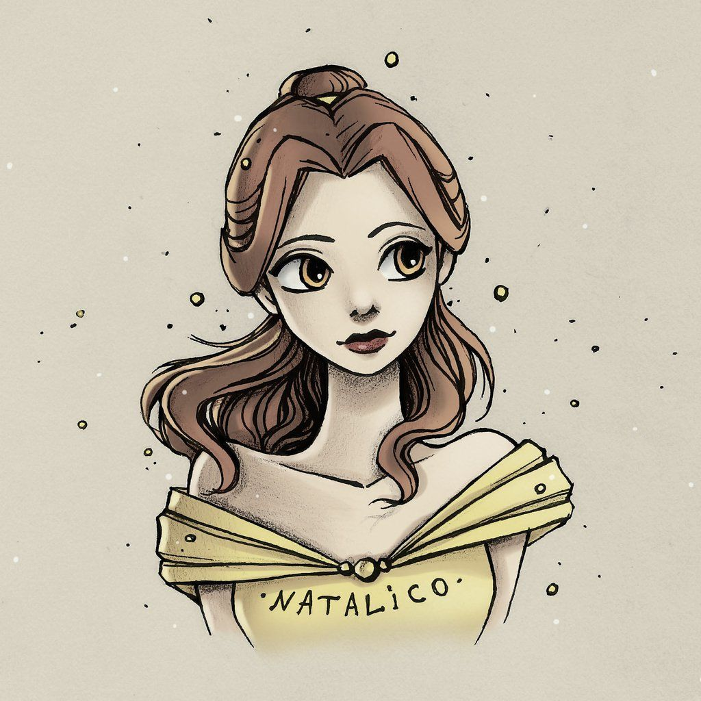Belle+by+natalico.deviantart.com+on+@DeviantArt