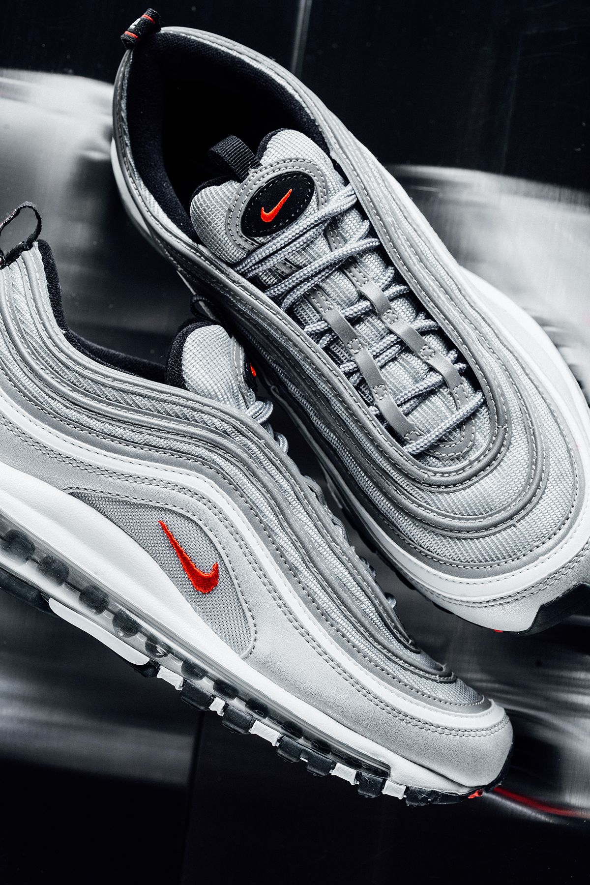 "on sale 1fcbc 554b8 Nike Air Max  97 ""Silver Bullet"""