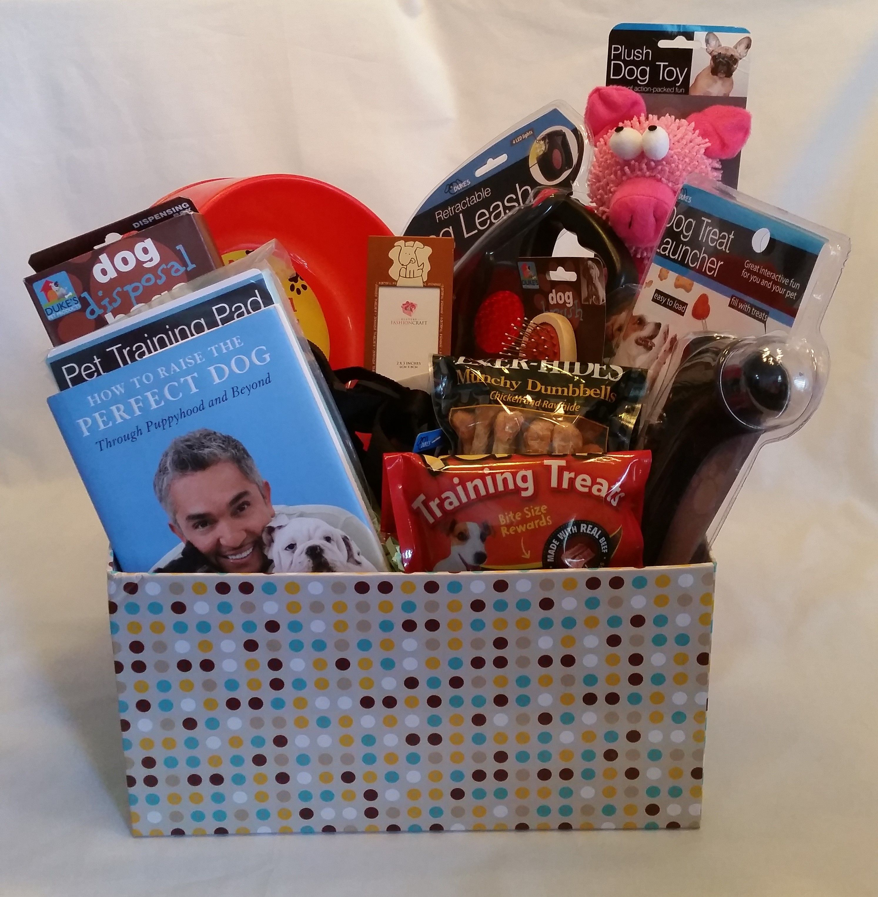 NEW PUPPY GIFT BOX if you are getting a new puppy or know