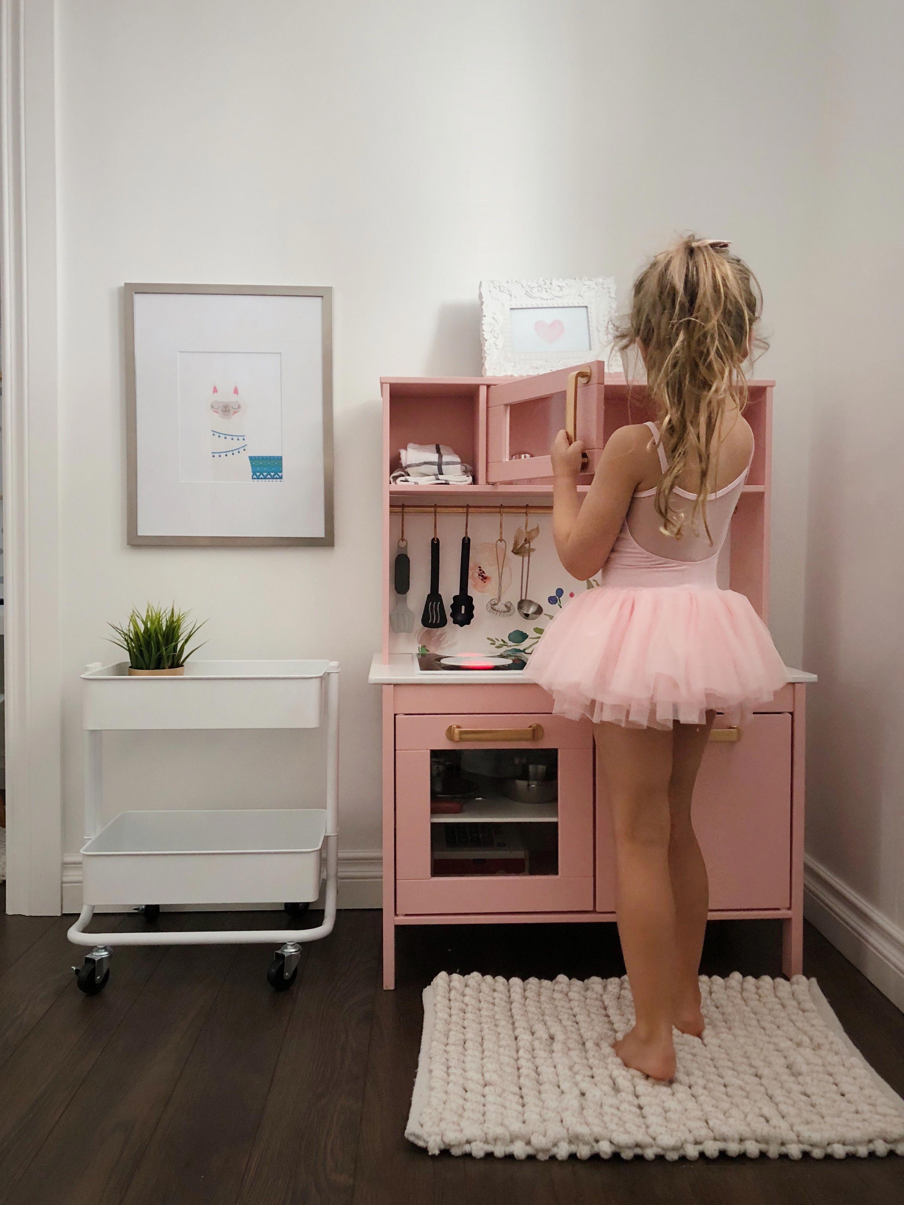 IKEA play kitchen hack #kidstoykitchen   Ikea play kitchen. Kid room decor. Ikea kids kitchen