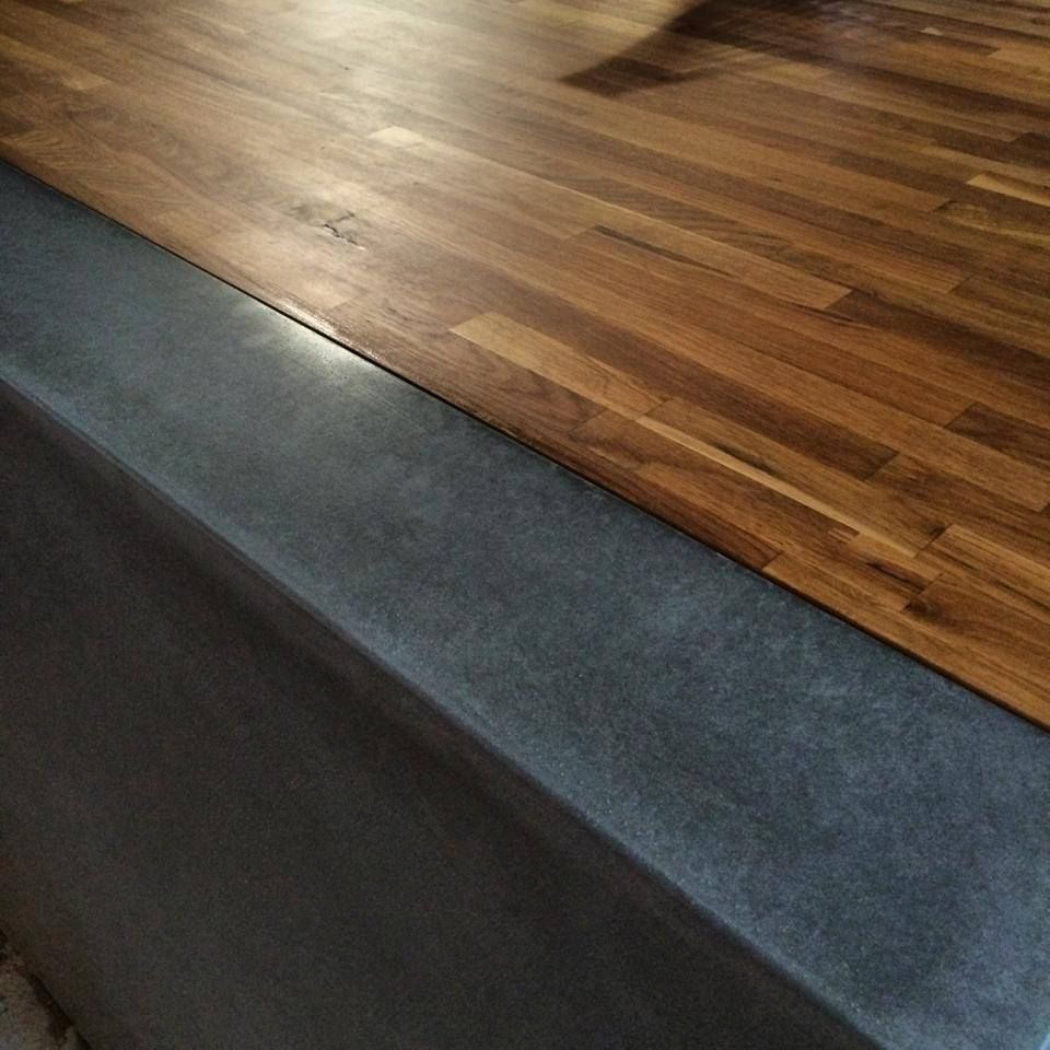 Polished Concrete Kitchen Benchtops By Mitchell Bink