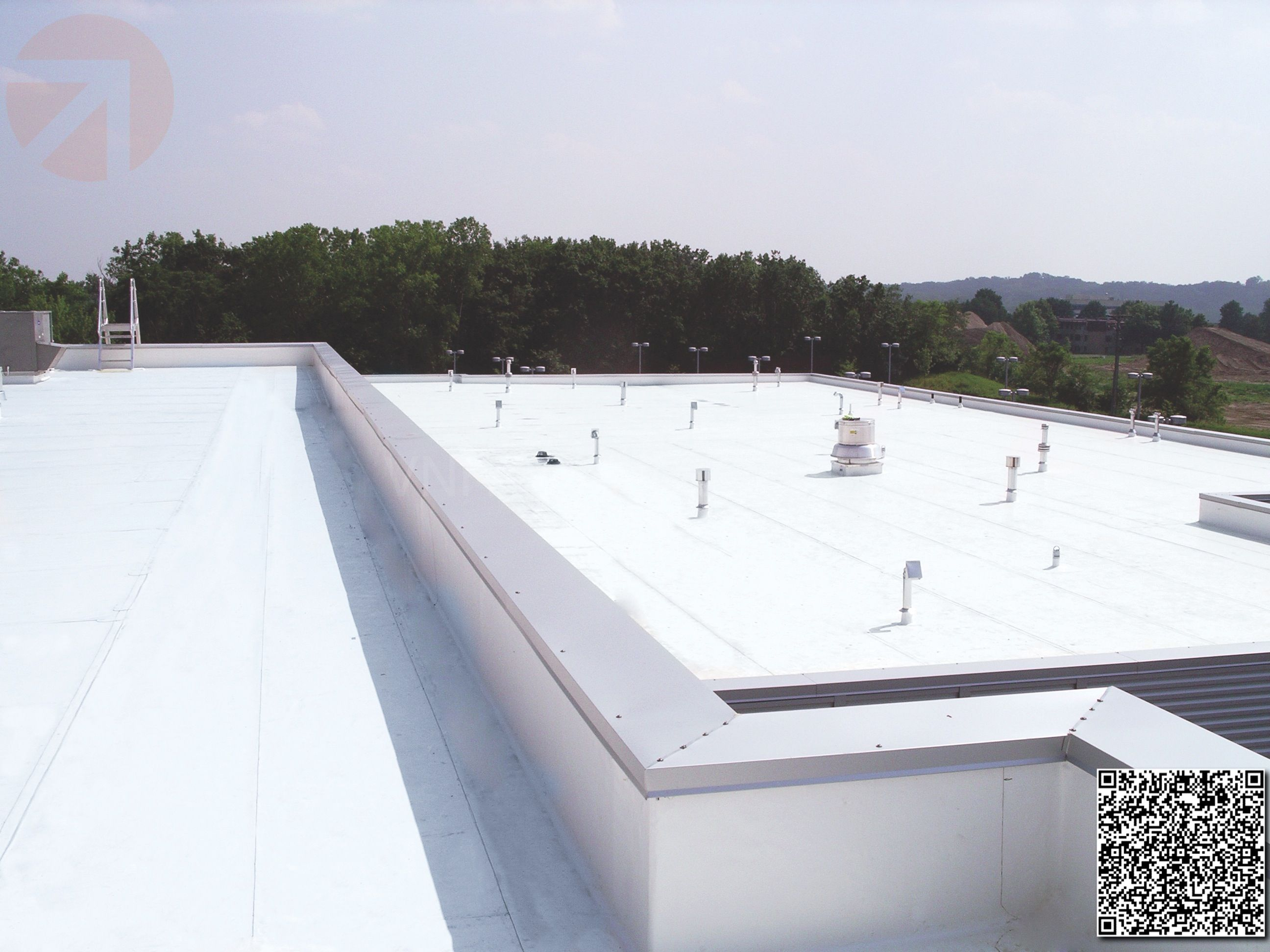 Elastomeric Foam Membrane White Roof Products And Installation Photos Roof Repair Roofing Systems Roofing