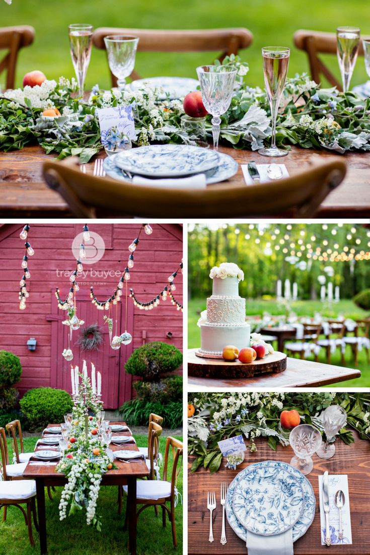 Upscale Wedding Flowers And Wedding Decor For Barn Wedding At