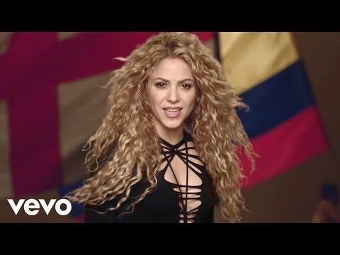 3 Shakira La La La Brazil 2014 Ft Carlinhos Brown Youtube In 2020 Shakira Shakira Mebarak 2014 Music