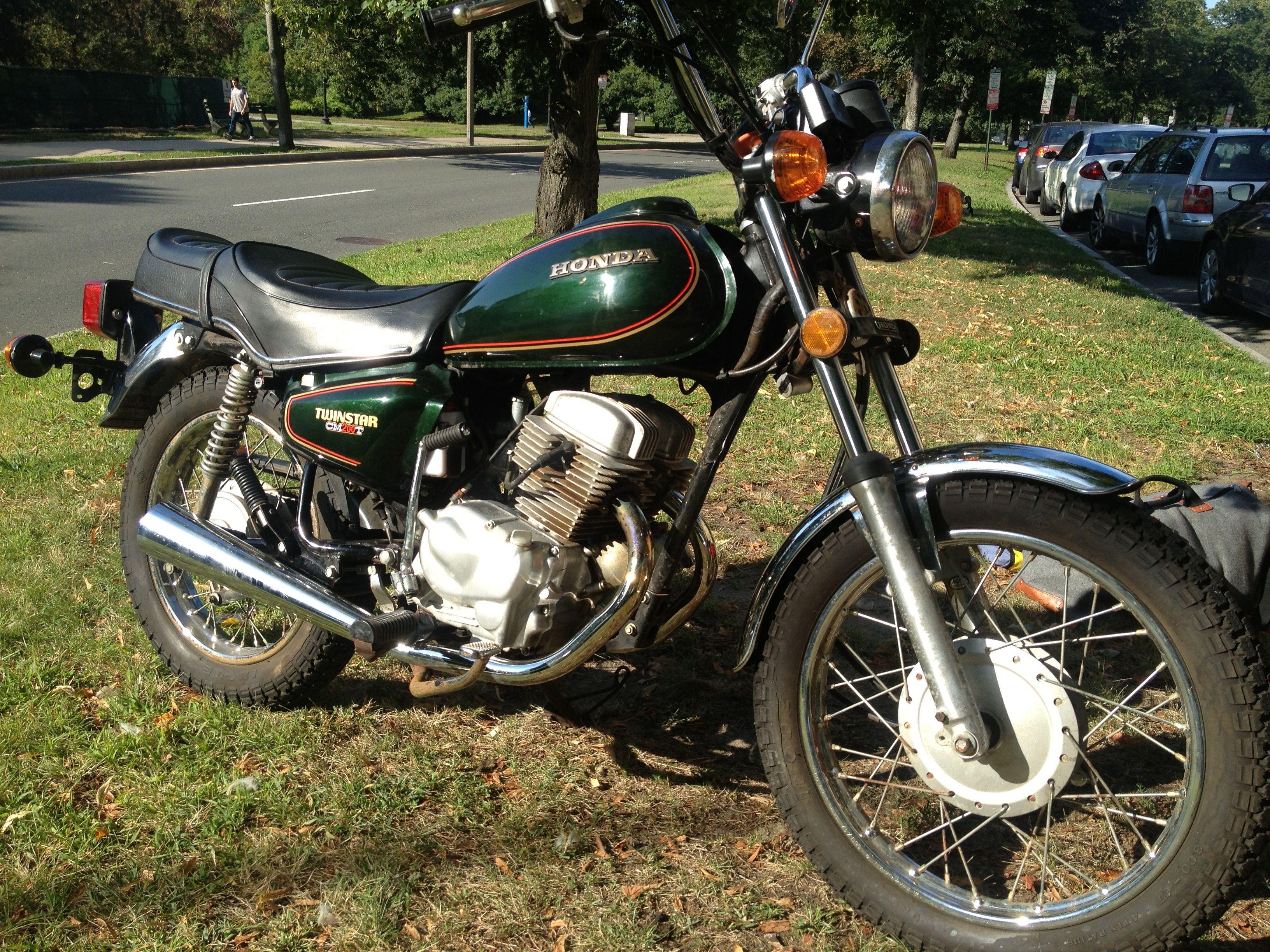 My 1980 honda twinstar cm200t transportation pinterest for 1980s honda motorcycles