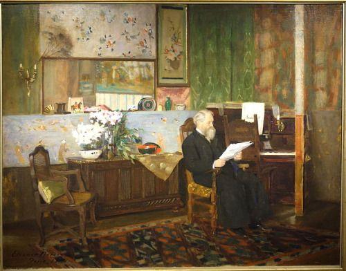 My Studio (1891) by Eleanor Norcross, born June 19th, 1854.