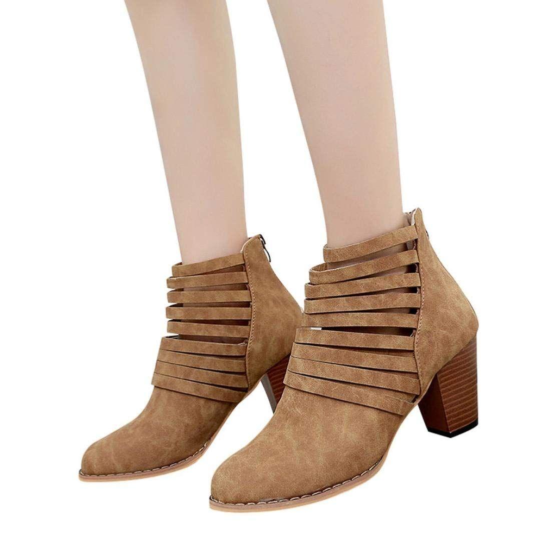 ed29c41cdee6 Hemlock High Heel Ankle Boots