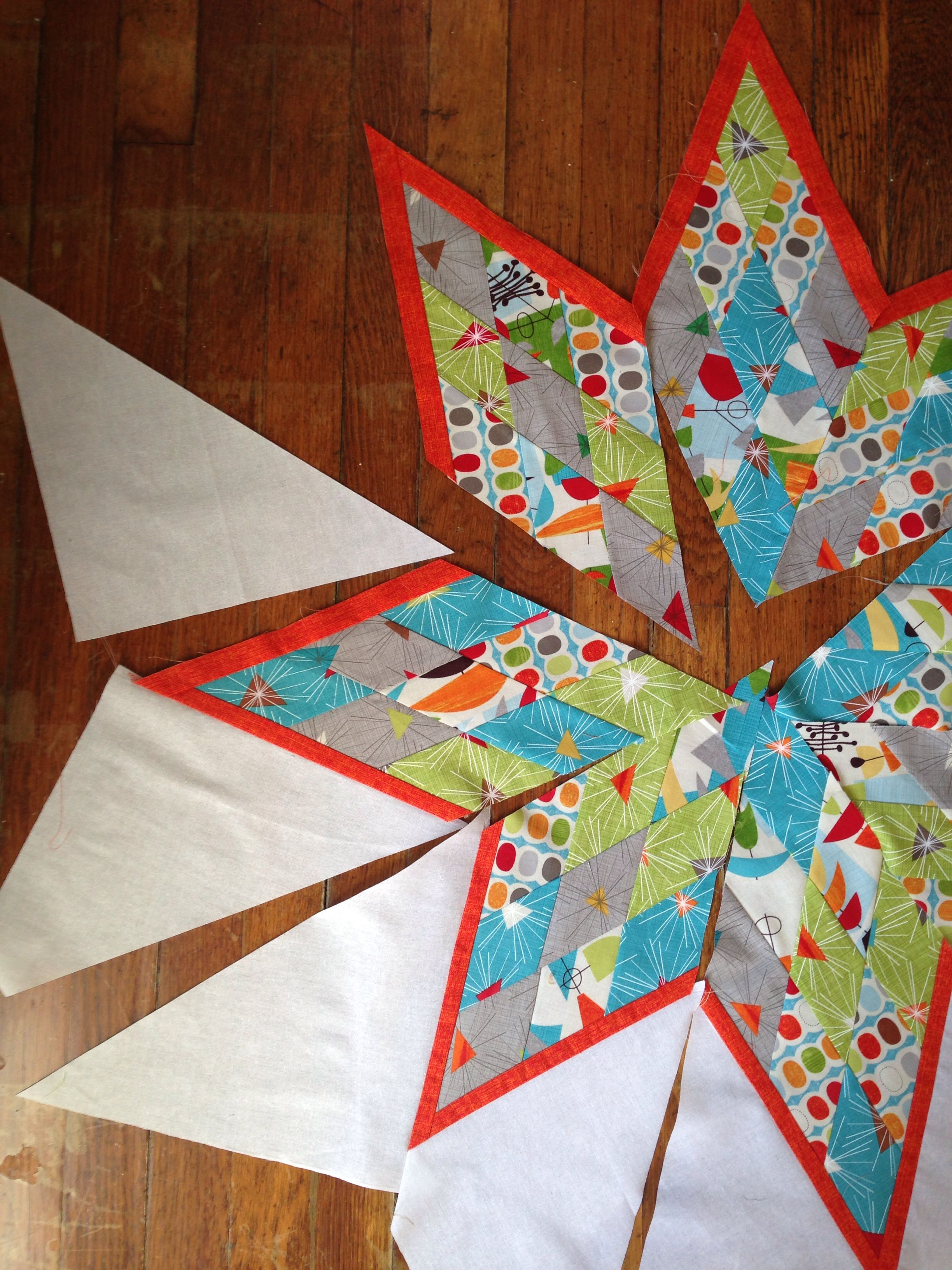 The Making Of My Good Friends Baby Quilt From The Scrappy