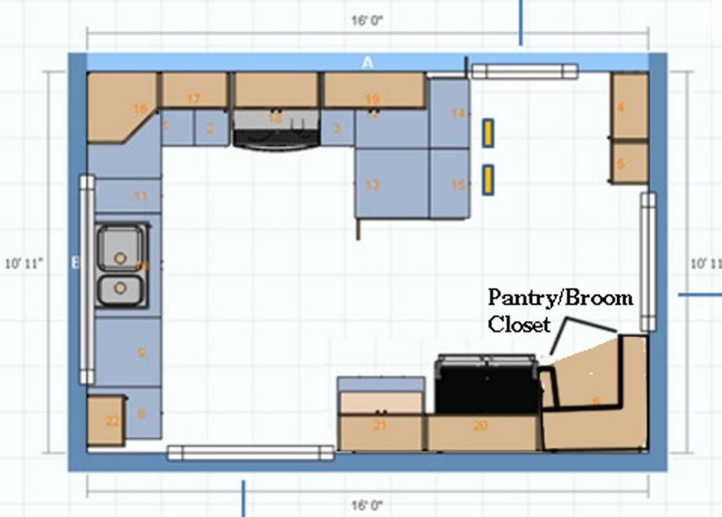 Best Layout For Small Kitchen With Three Doorways Kitchen Designs Layout Kitchen Decor Small Dining Table Apartment