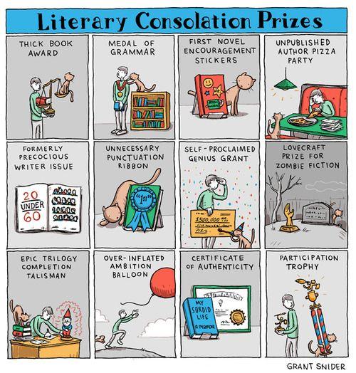 Kirjallisia lohdutuspalkintoja