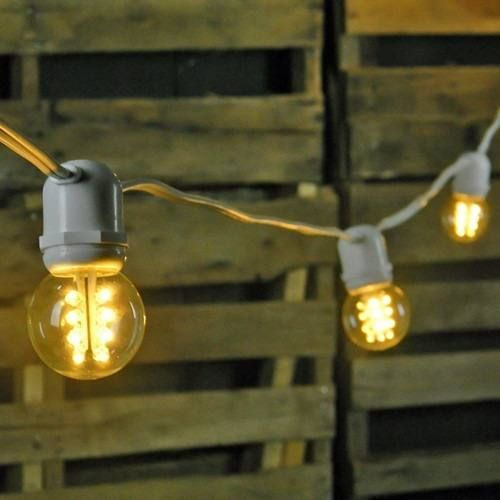 Luces series para focos vintage edison jardines 200 for Luces decorativas jardin