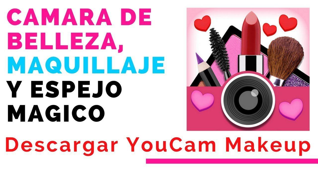 Cómo usar YouCam MakeUp Cámara de belleza, maquillaje y