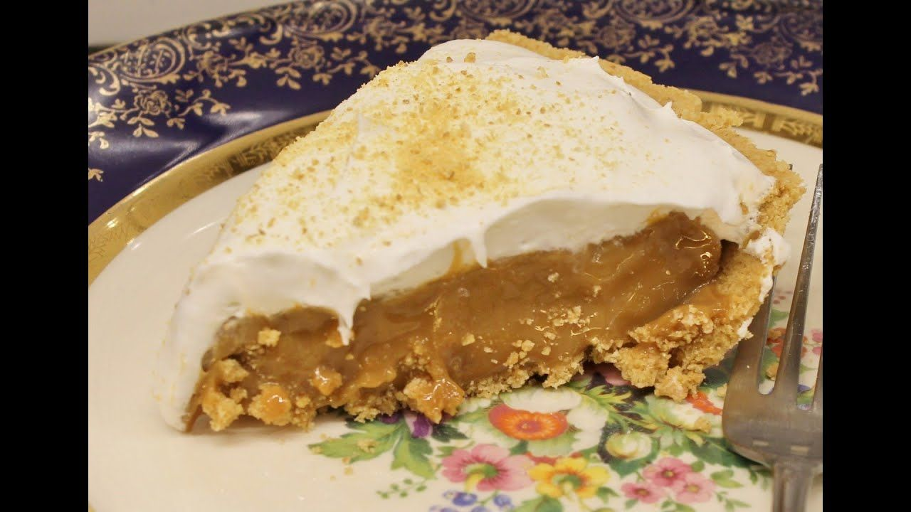 Kevin Makes Caramel Pie Recipe Caramel Pie Recipe Caramel Pie Pie Recipes