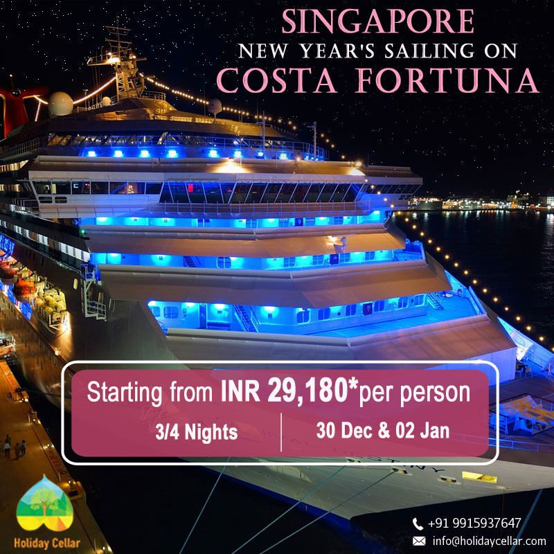 Great NEW YEAR Deal! Celebrate this New Year in Singapore