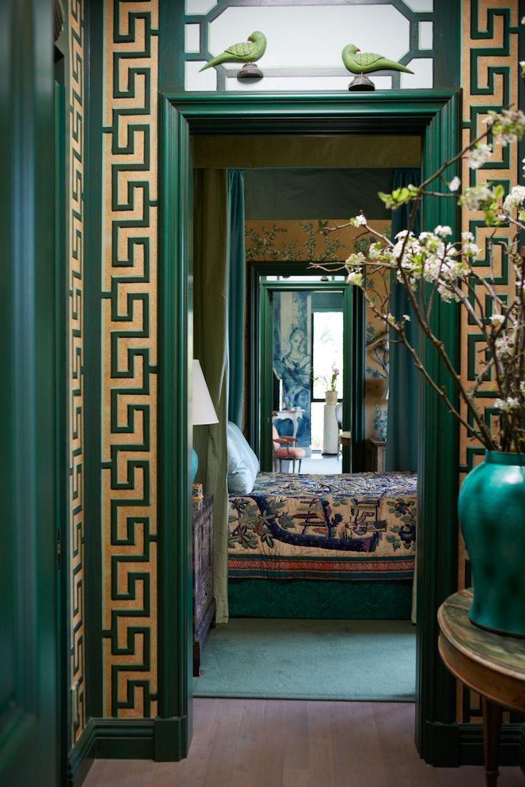 Decor Design Review  Idées pour la maison, Décor grec, Deco chambre