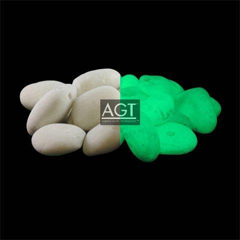 1 Lb Emerald Yellow Glowing River Rock Products Glow Rock Glow Stones River Rock Landscaping