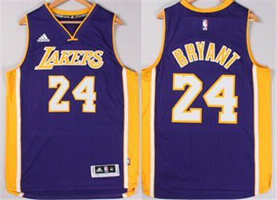 24 Kobe Bryant Los Angeles Lakers Swingman Purple Stitched Jerseys Los Angeles Lakers Kobe Bryant Jersey