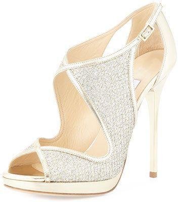 2b1cbe76e412 Jimmy Choo Leondra Crystal-Embellished Evening Sandal