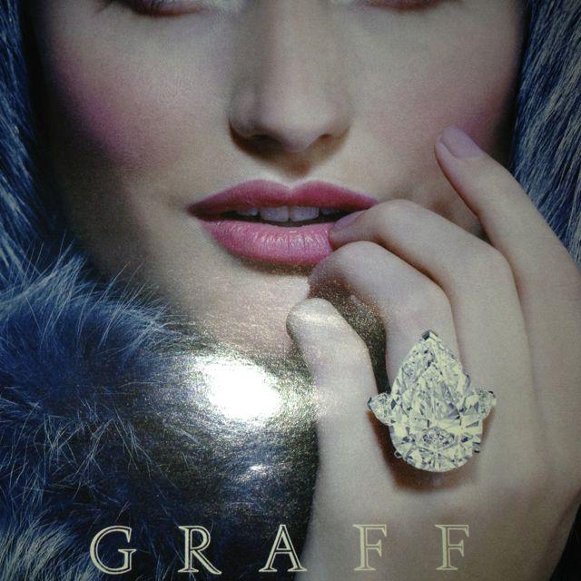 Polar bear ring by Graff