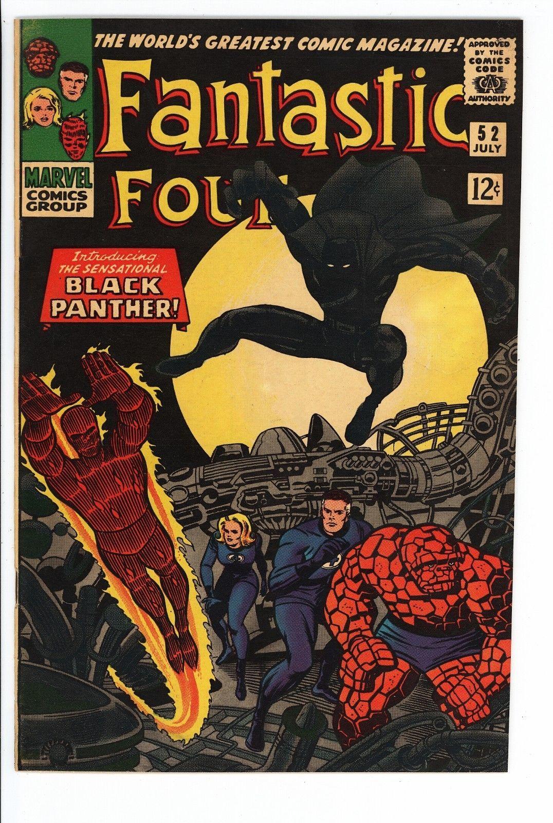 archived! $ 355   Fantastic Four #52 Vol 1 High Grade 1st Appearance . #comics #FantasticFour https://t.co/E7M0vPaugl