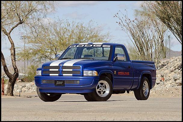 Dodge Ram Sst Indy Pace Truck Dodge Ram Dodge Trucks