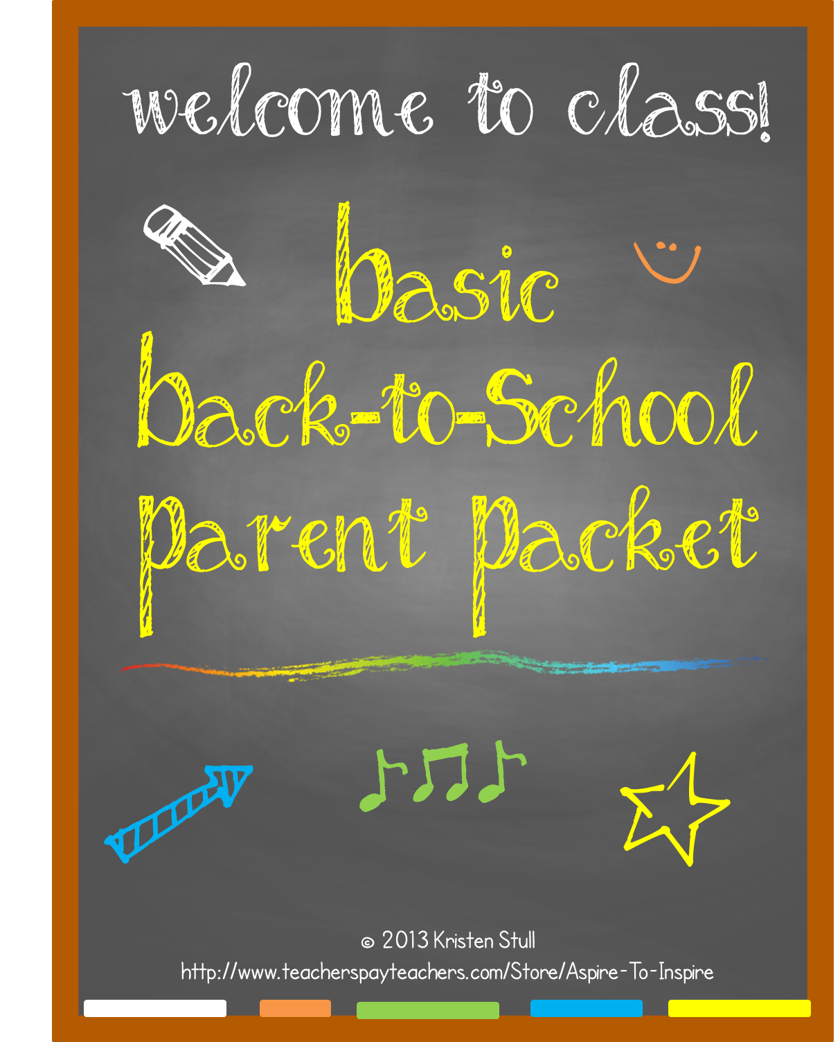 Basic Back to School Parent Welcome Packet (Editable) | Discipline ...