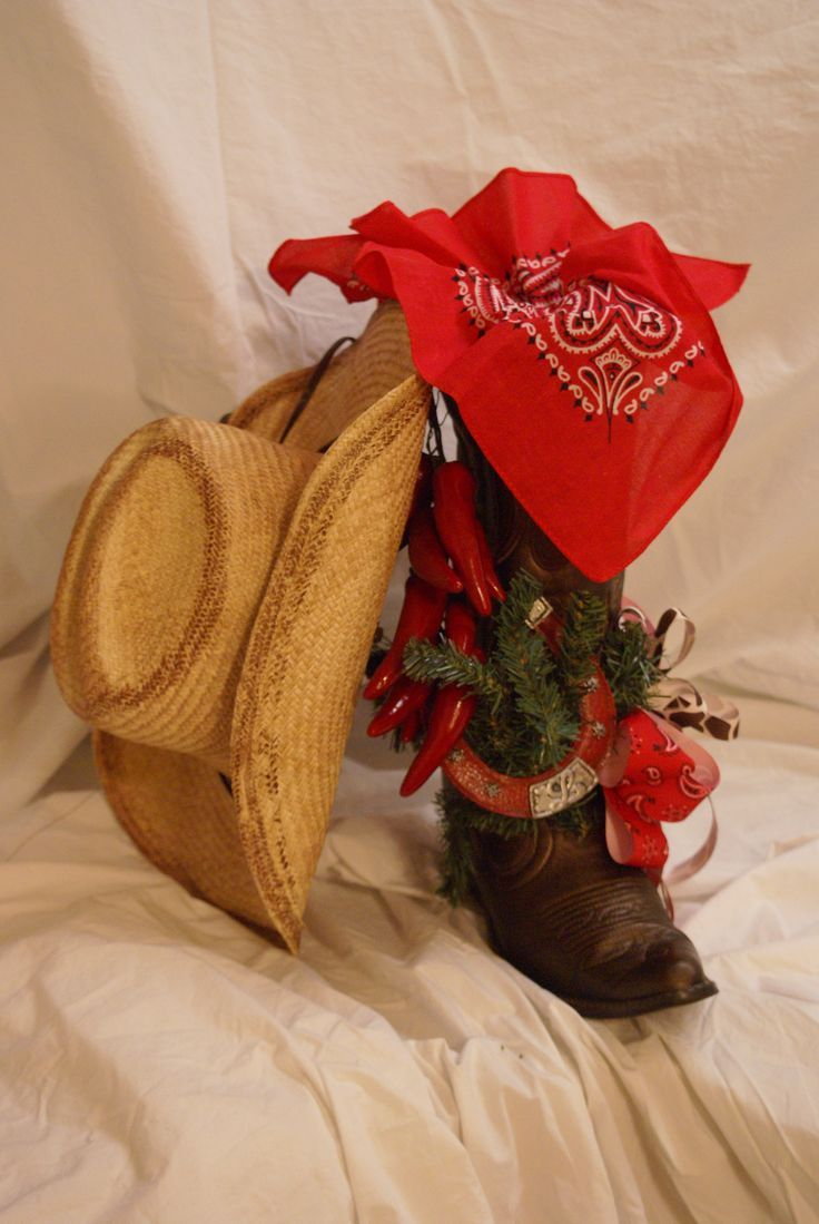 Image Result For Western Christmas Centerpieces Cowboy