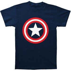 Rockabilia Captain America Shield T-s... $25.29 #bestseller