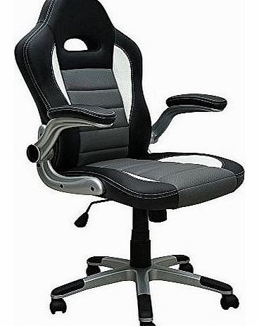 decor furniture gt 500 leather bucket seat office racer chair no