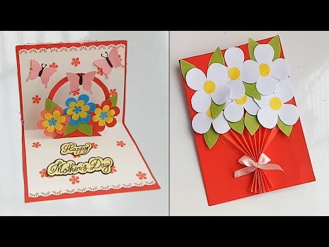 Handmade Mother S Day Card Mother S Day Pop Up Card Making Idea Youtube Cards Handmade Card Making Handmade Birthday Cards