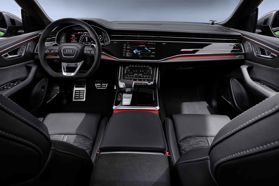 Audi Rs Q8 Suv In 2020 Audi Rs Audi Audi Interior