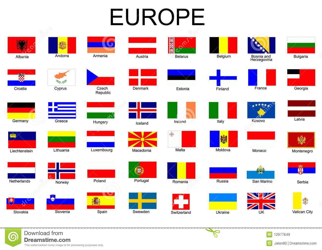 European Country Flags 12977649 Jpg 1300 1009