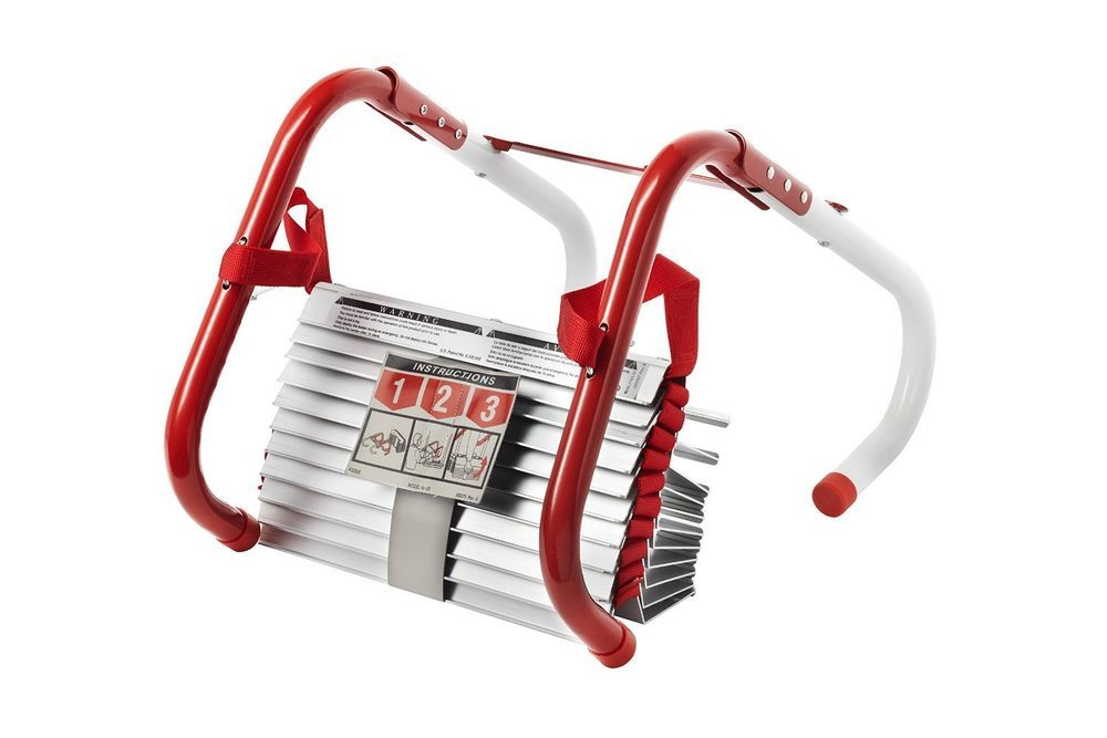 Best Kidde Ladders Kl 2S Two Story Fire Escape Ladder With Anti 400 x 300