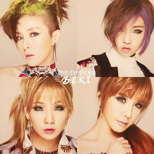 Blue Eyed Idols 2ne1 Kpop Girl Groups Cl 2ne1