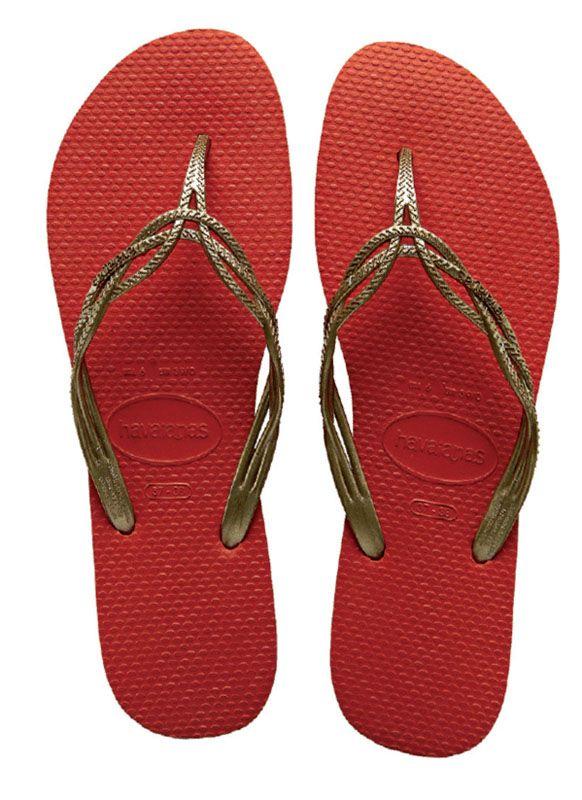 Zapatos rojos Havaianas para hombre 1KCDqpFnhv