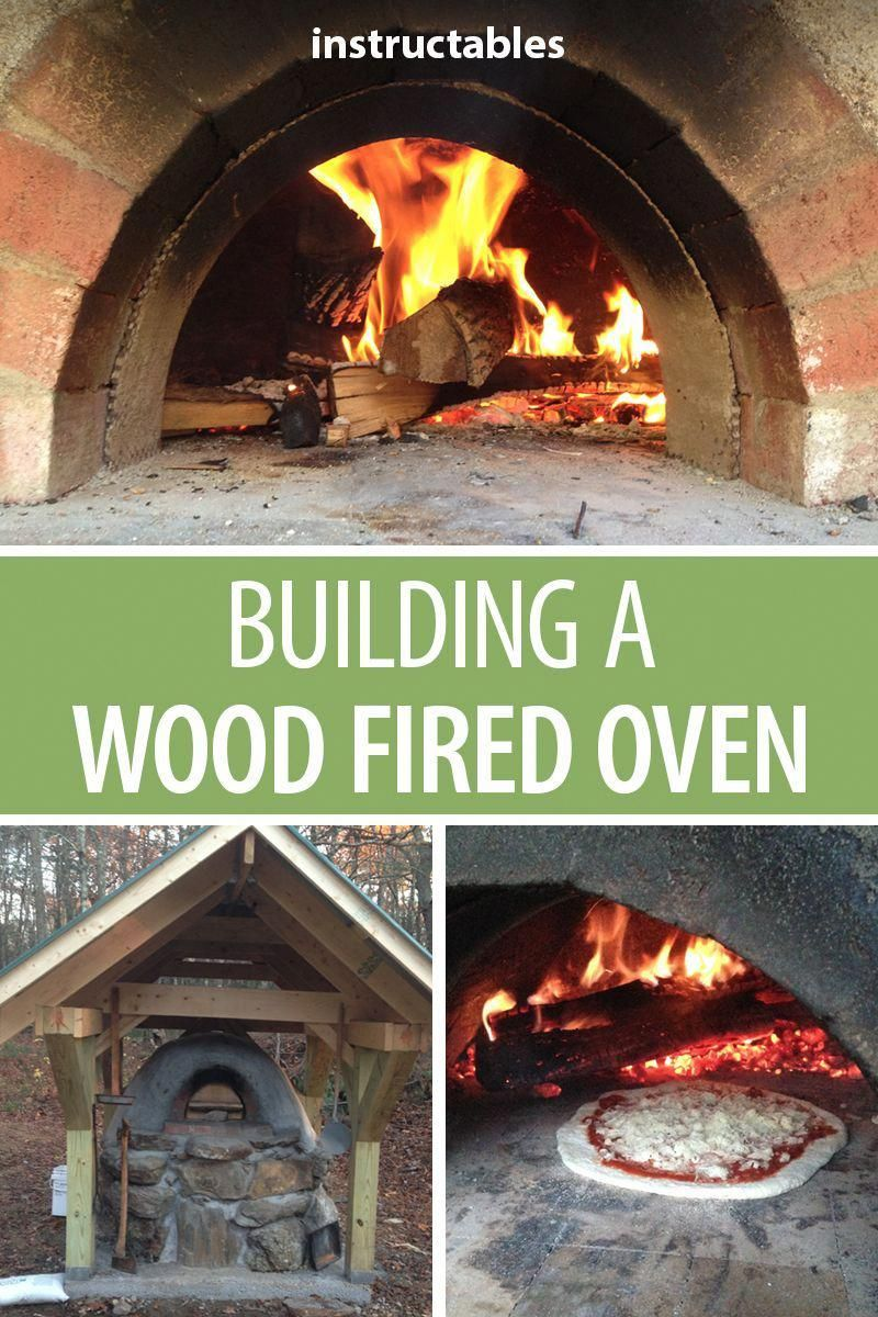 Build a wood fired oven at home in your backyard so you ...