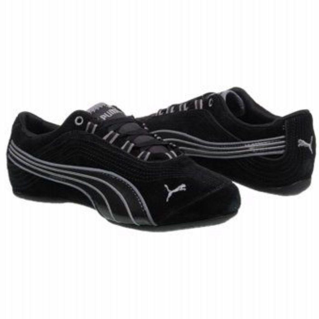 Puma Shoes | Puma Soleil V2 Suede Sneakers | Color: Black