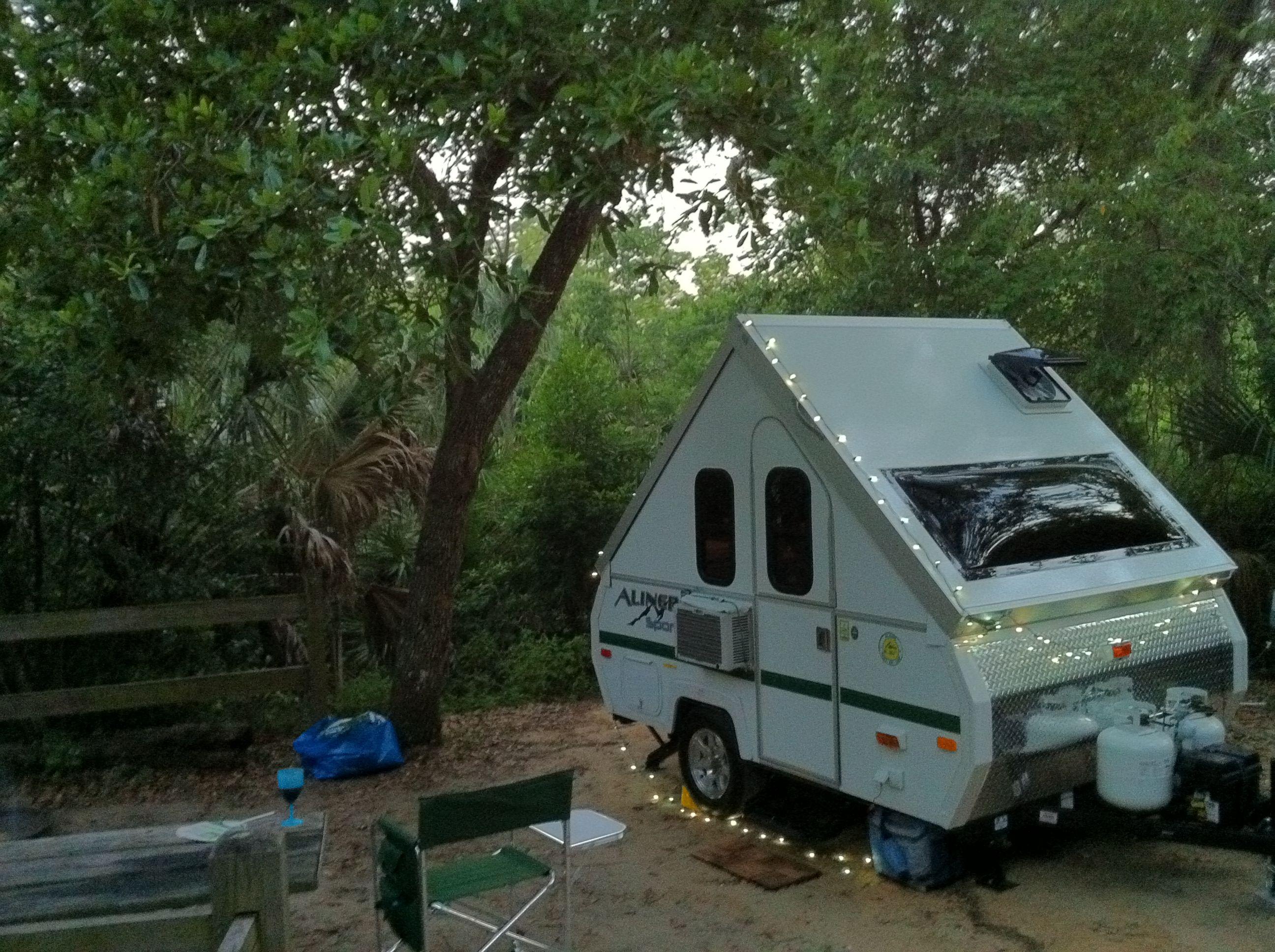My Aliner camper | Avan camper | Pinterest