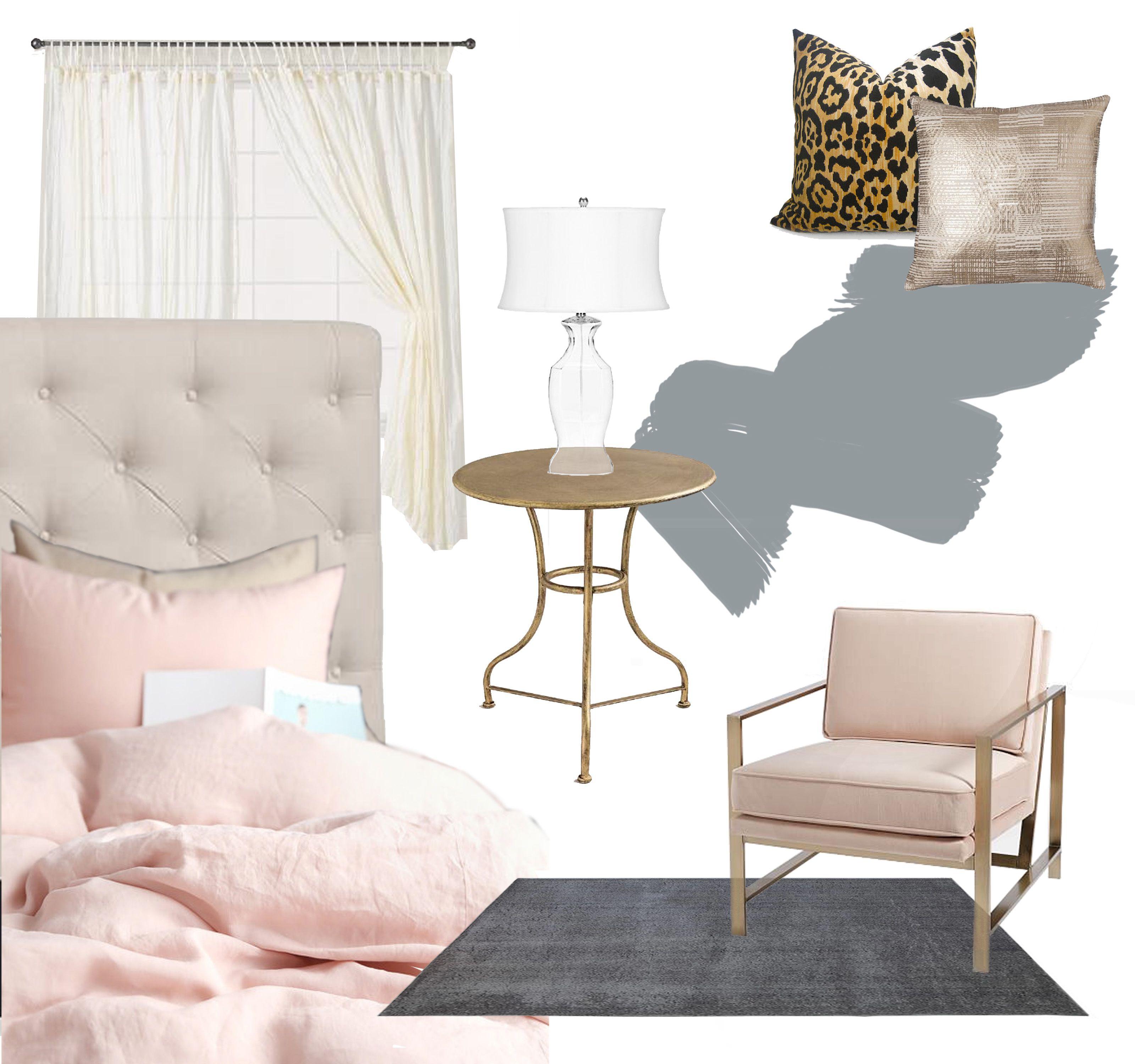 Blushing Blogger | Mood Boards | Copper, grey bedroom ...