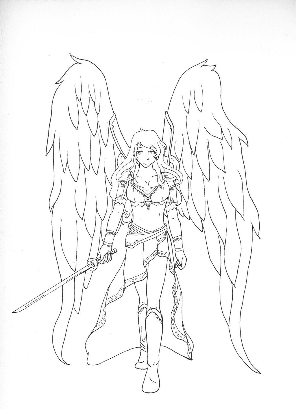 Female Warriors Female Warrior Angel Artwork Pic 22 Kootation