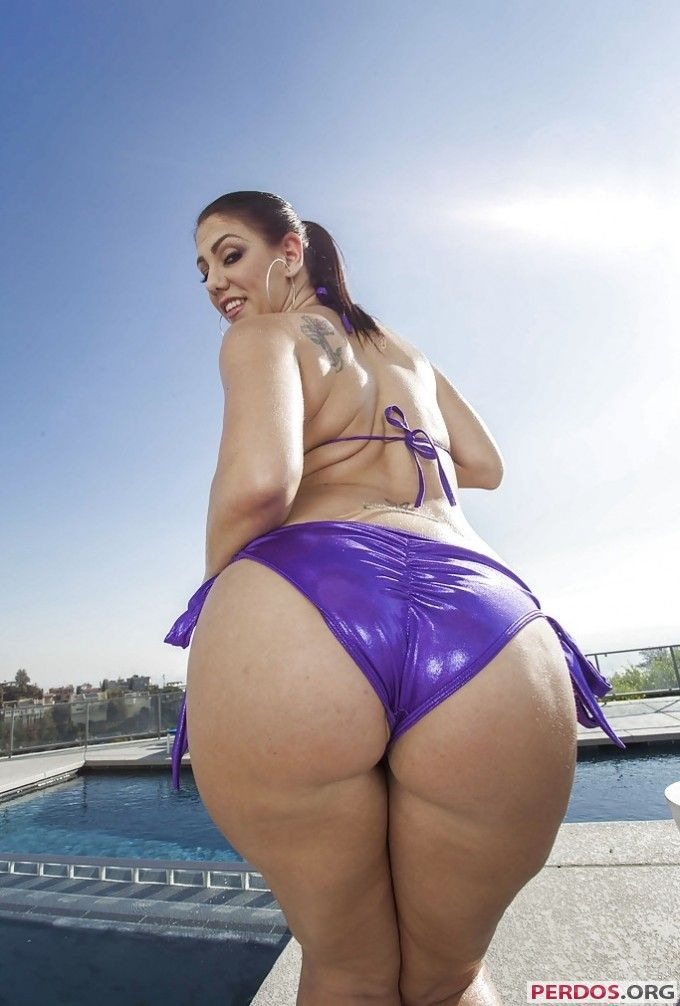 ass Big round latina
