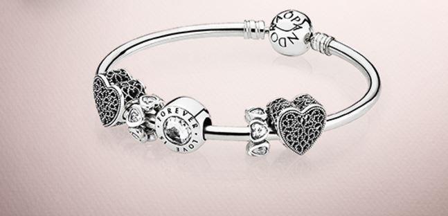 pandora braccialetto donna rigido