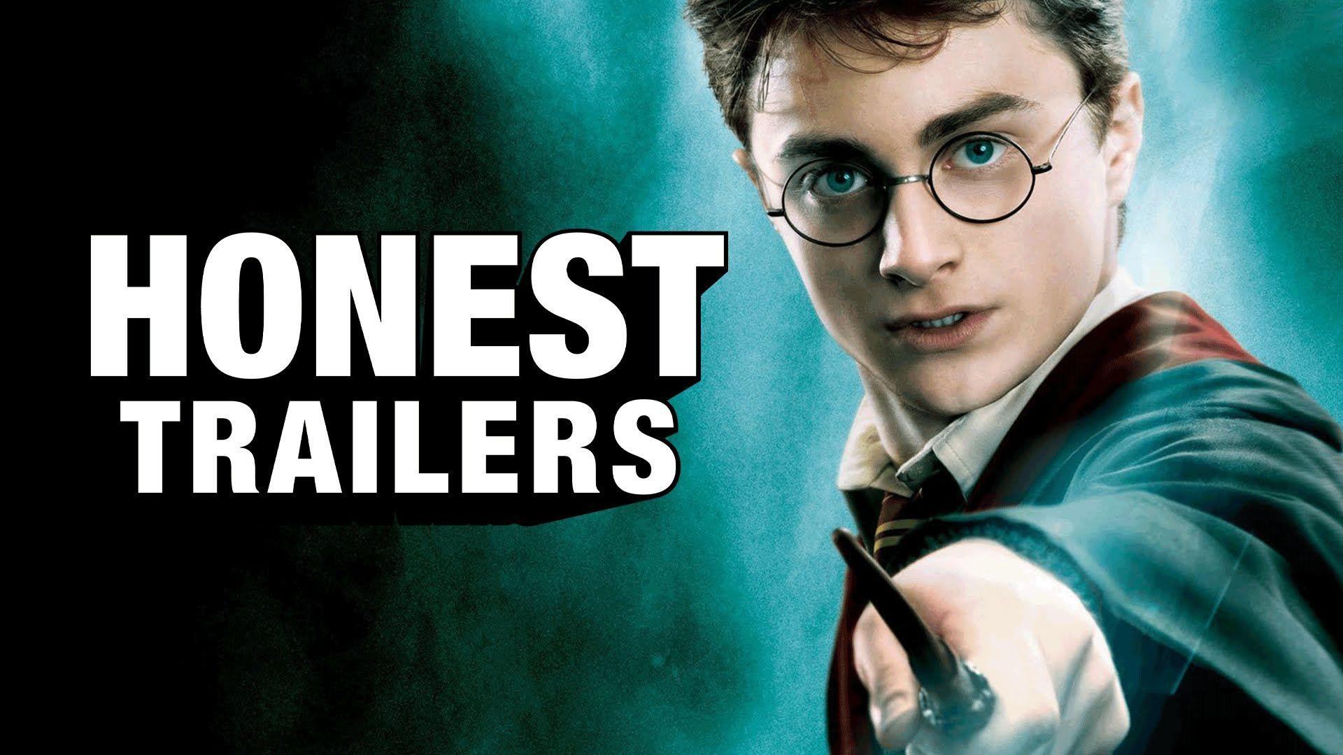 Honest Trailers Harry Potter Harry Potter Youtube Harry Potter Eight Movie